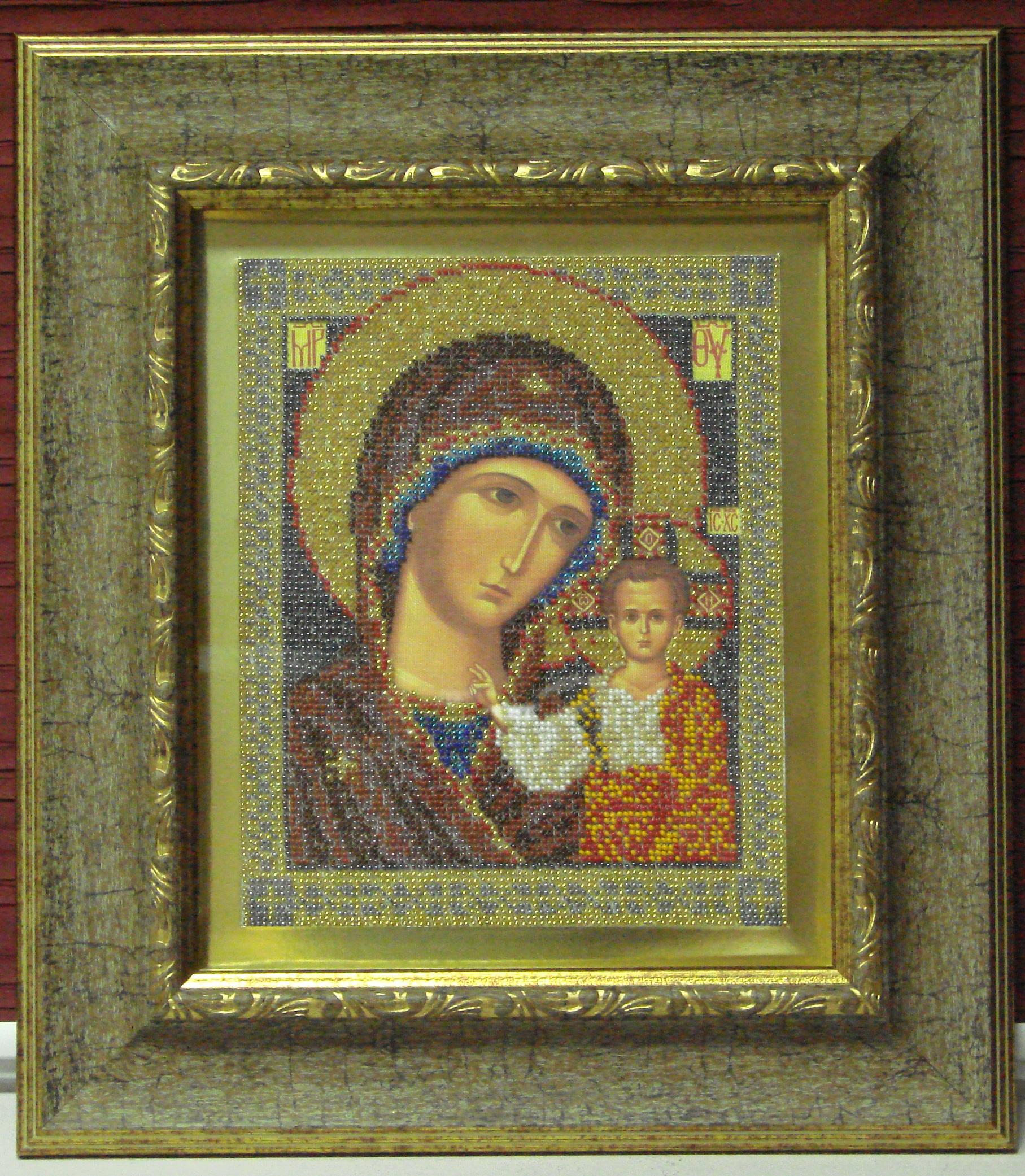 икона Казанской Божией Матери.